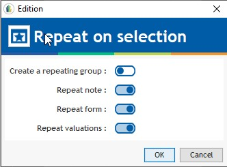 repetition-selection