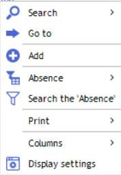 Contextual menu resources 1