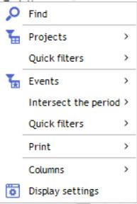 contextual menu gantt 1