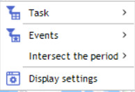 contextual menu events maps
