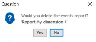 event report delete
