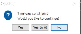time gap constraint question