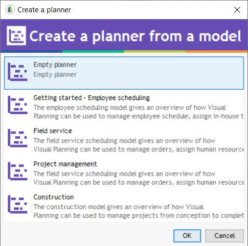 add a planner