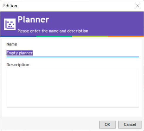 add a planner name