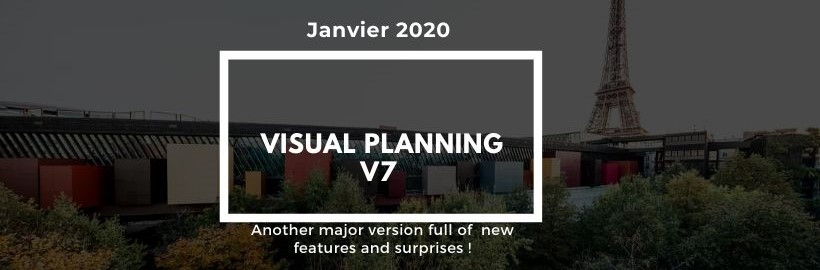 Visual Planning v7: Major version full of new features!