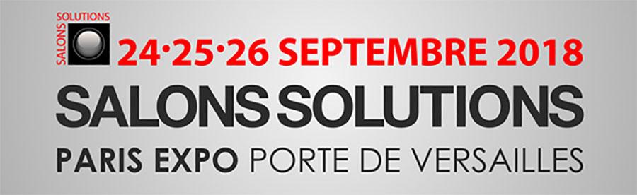Visual Planning au Salon Solutions à Paris les 24, 25 et 26 septembre 2018